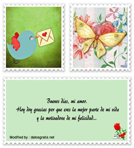 frases de buenos días para dedicar a mi amor por Messenger ...