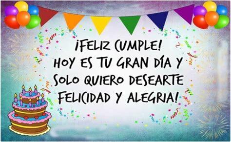 Frases de cumpleaños para felicitar a tus seres queridos
