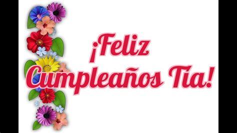 Frases de Feliz Cumpleaños Tía   Felicitaciones Para mi ...