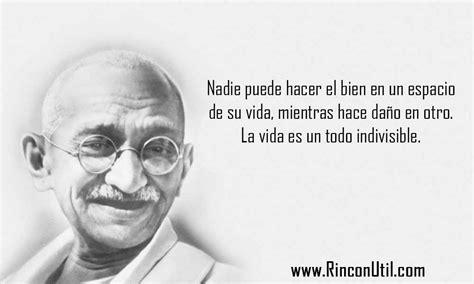 Frases de Mahatma Gandhi   Rincon Util