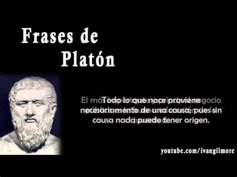 Frases de Platón filósofo griego Sus frases célebres ...