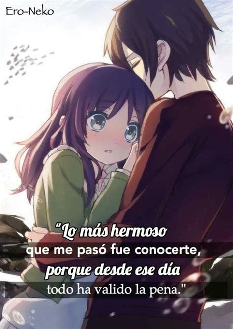 Frases | Frases de destino amor, Frases de amor anime y ...