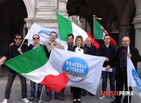 fratelli d italia trieste:  prosegue la raccolta firme per ...