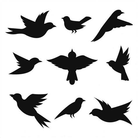 FREE 9+ Bird Silhouettes in PSD | Vector EPS