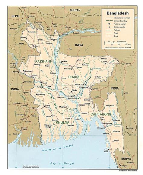 Free Bangladesh Maps