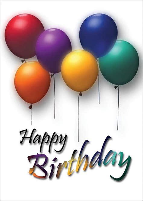 Free Birthday Balloon Images, Download Free Clip Art, Free ...