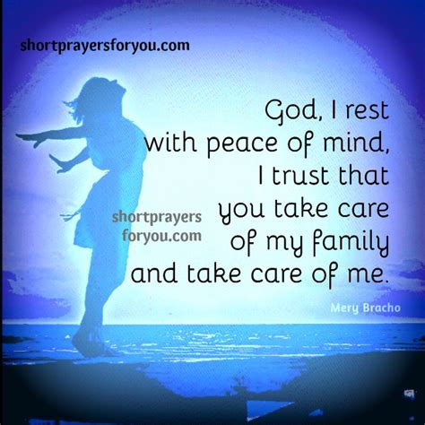 Free Christian Night Prayer. I rest with your peace ...