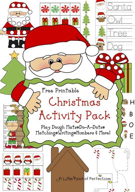 Free Christmas Printable Pack & Learning Activities for ...