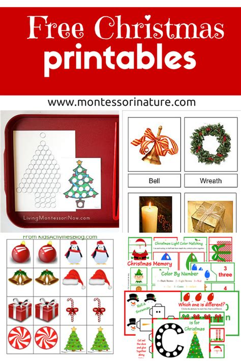 Free Christmas Printables   Learning Resources for ...