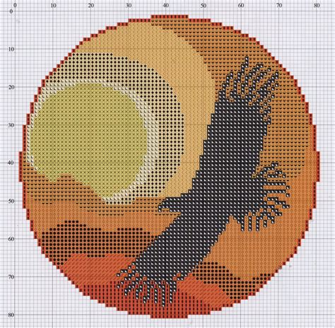Free cross stitch pattern Dreamcatcher | DIY 100 Ideas