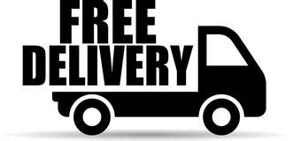 Free Delivery Truck Image Logo Stock Vector   Illustration ...