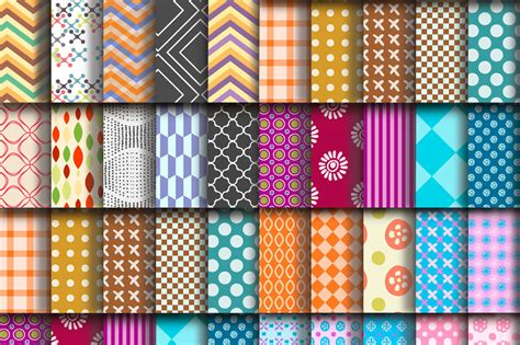 Free Download: 100 Repeating Vector Patterns From Freepik ...