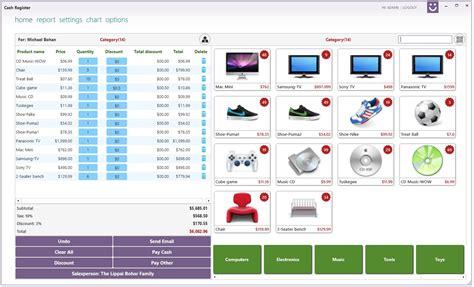 Free Download: Cash Register App For Computer