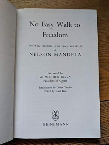 Free Download: No Easy Walk to Freedom by Nelson Mandela ...