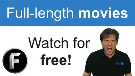 Free full length movies!   YouTube