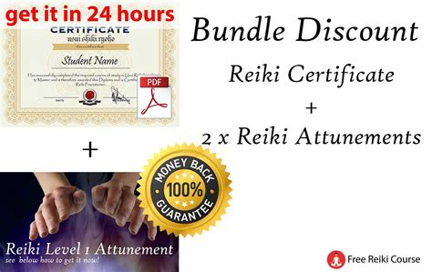 Free Full Reiki Level 1 Course + video + certificate