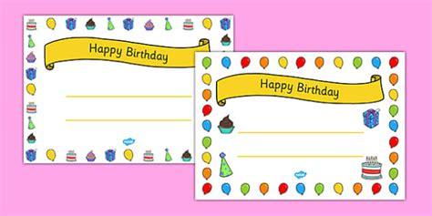 *FREE* Happy Birthday Certificates  teacher made