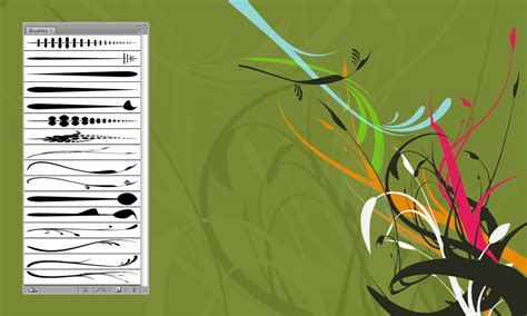 Free Illustrator Brushes and Vectors: Foliage   Bittbox