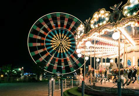 Free Images : people, night, summer, travel, ferris wheel ...