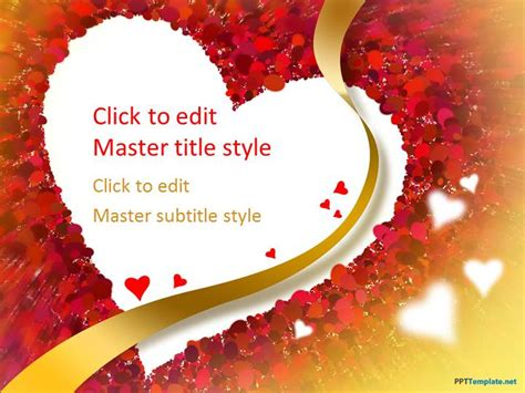 Free Love PPT Templates   PPT Template