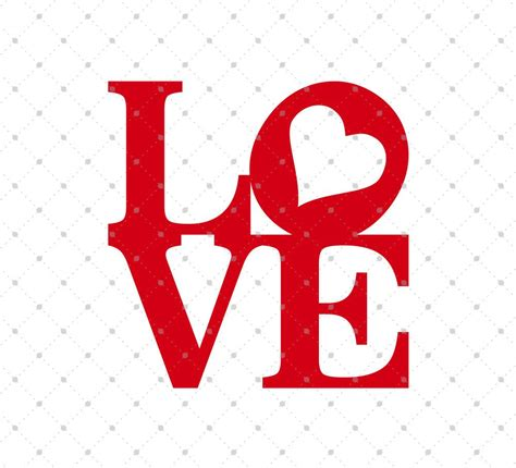 Free Love Square Design SVG cut Files for Cricut Design ...