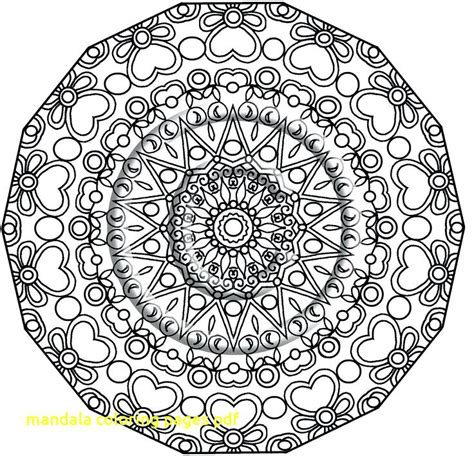 Free Mandala Coloring Pages Pdf at GetColorings.com | Free ...