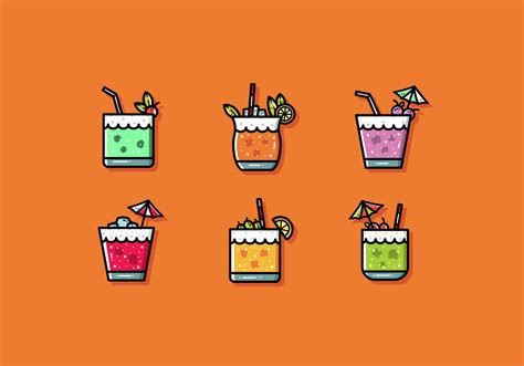 Free Mocktail Vector   Download Free Vectors, Clipart ...