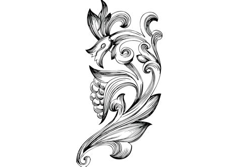 Free Ornamental Floral Elements Vector   Download Free ...