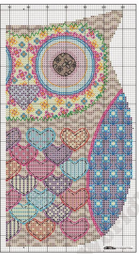 Free Owl Cross Stitch Chart