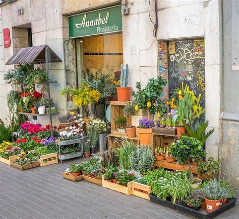 Free photo: Barcelona, Spain, Flower Shop   Free Image on ...
