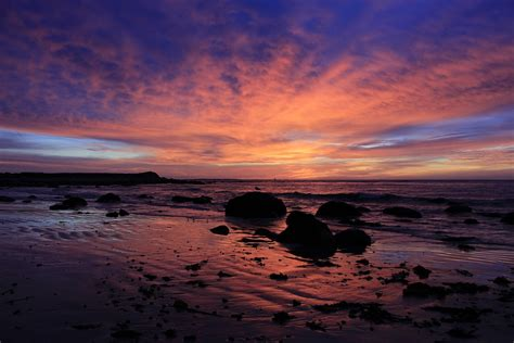 Free photo: Sunrise, Beach, Ocean, Sea, Sky   Free Image ...