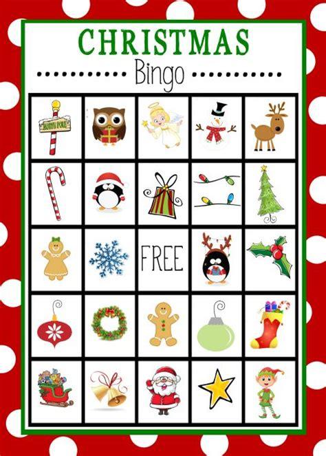 Free Printable Christmas Bingo Game | Christmas bingo ...