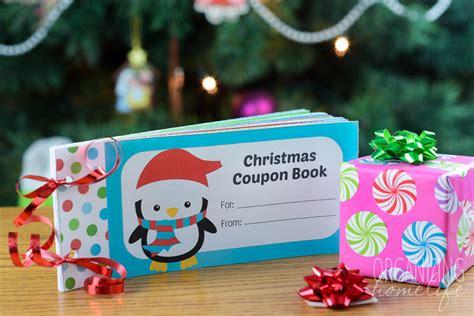 Free Printable Christmas Coupon Book for Kids   Organizing ...
