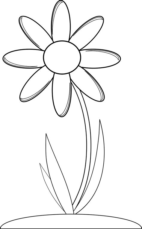 Free printable flower coloring pages: 16 pics   HOW TO ...