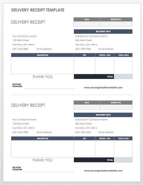 Free Shipping and Packing Templates | Smartsheet