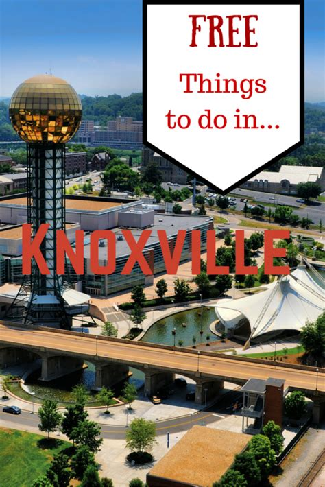 Free Things to Do in Knoxville TN | TravelingMom