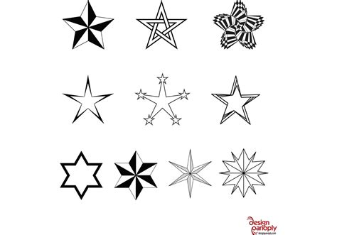 Free Vector Stars Pack   Download Free Vector Art, Stock ...