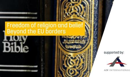 Freedom of religion and belief beyond the EU's borders ...