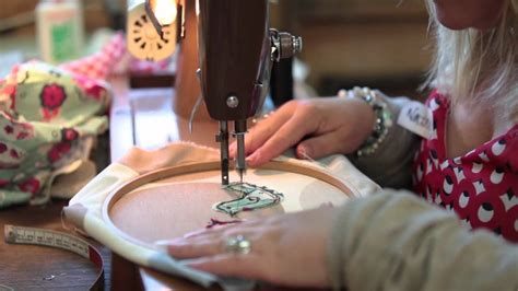 Freehand Machine Embroidery Workshop   an introduction to ...