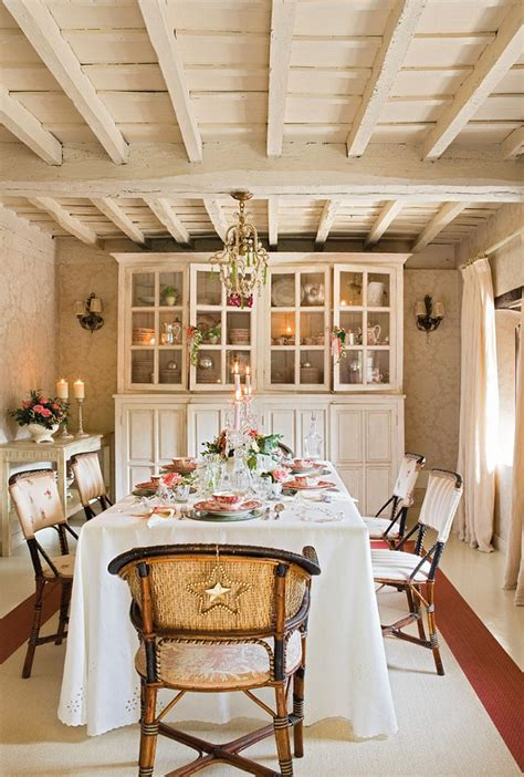 French Country Cottage with Christmas Decor   Home Bunch ...