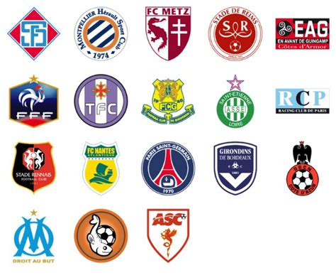 French Football Clubs   free icon packs   UI Download