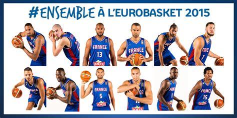 French National Team for Euroasket 2015, starting ...
