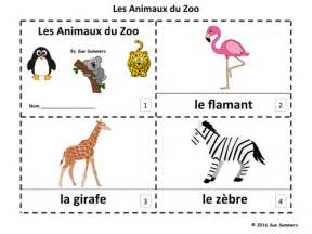 French Zoo Animals 2 Emergent Reader Booklets   Les ...