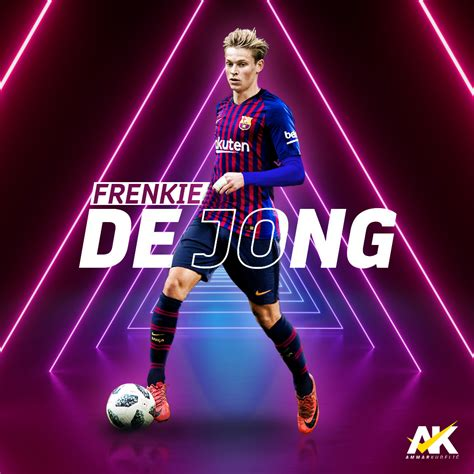 FRENKIE DE JONG   BARCELONA 2019 by AmmarKudelic Design on ...