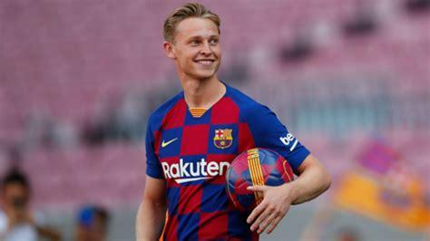 Frenkie de Jong keen to sustain Cruyff traditions at Barcelona