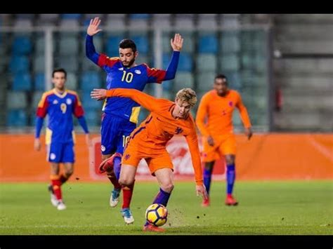 Frenkie de Jong vs Andorra U21  10/11/17    YouTube