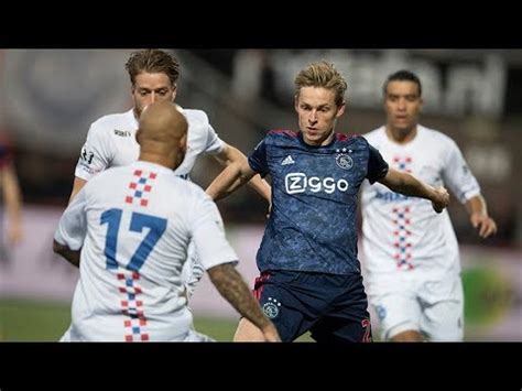 Frenkie de Jong vs ASV De Dijk  25/10/17    YouTube
