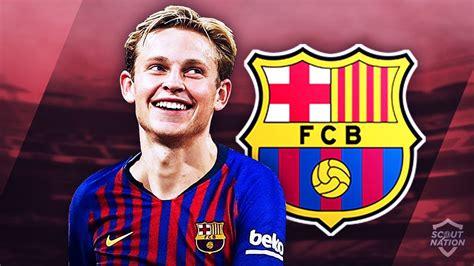 FRENKIE DE JONG   Welcome to Barcelona   Genius Skills ...