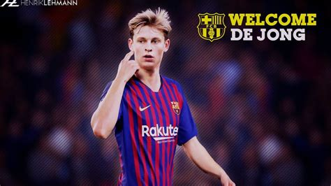 Frenkie de Jong   Welcome to FC Barcelona | 2019   YouTube