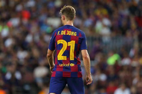 Frenkie De Jong wins Joan Gamper Trophy MVP   Barca Blaugranes